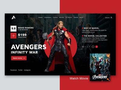 Marvel - Avengers Infinity war