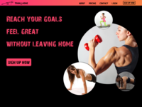 Personal Training Landing Page