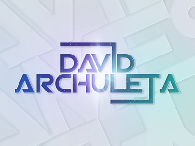 Nebula Typography Wallpaper celebrities artists nebula burst blue turquoise lights david archuleta typography galaxy