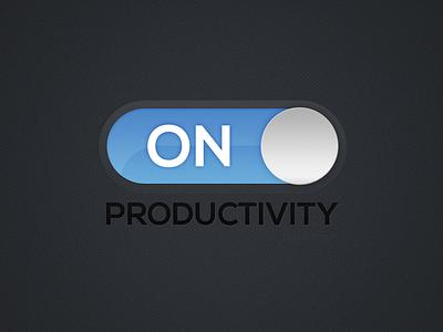 Wallpaper - Productivity: On wallpapers wallpaper productivity on produce blue switch onoff light switch
