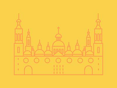 Zaragoza spain zaragoza lines logo icono icon