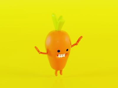 Energy carrot graphic designer vray 3d zbrush cinema 4d