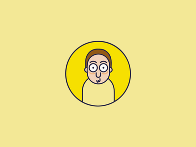 Morty (Rick and Morty) illustrator rick and morty icon