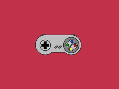 Super Nintendo icon nintendo illustrator vector