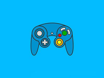 Nintendo icon videogame nintendo vector illustration icon