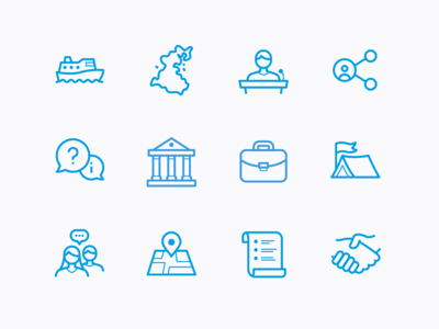 Icons for Donsö Shipping Meet