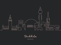 One line Stockholm
