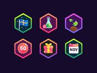 Fully Arcade Badges