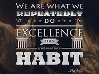 Sorry, It's a Habit