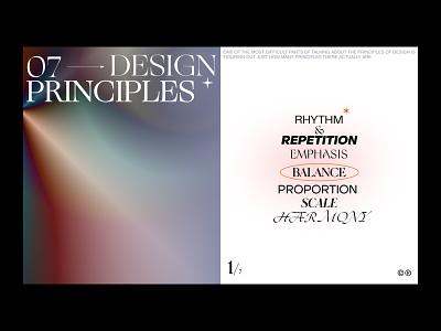 Design principles design web minimal branding typography ui