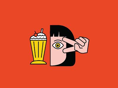 Pulp Fiction 1 90s film movie film dance peace sign milkshake quentin tarantino uma thurman pulp fiction