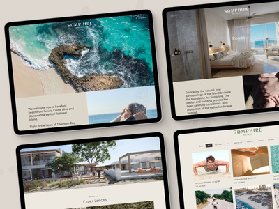 Island Hotel website design website design digital design ux designer ui design ui designer