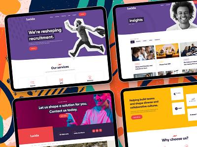 Recruitment website design ui design inspiration web design digital designer digital design ui design website design ui