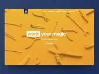 Website design for Workhouse