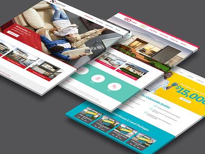 Website designs for Home Builders design ui web design website design