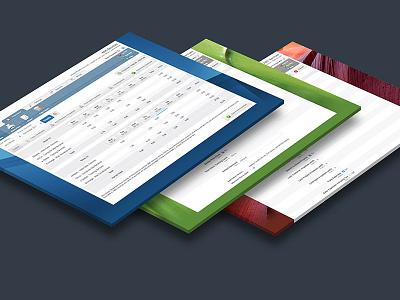 Web App Design for TimePro app design ui design ui