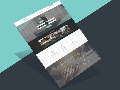 Website design for a Realestate company website design web design digital designer ui digital design