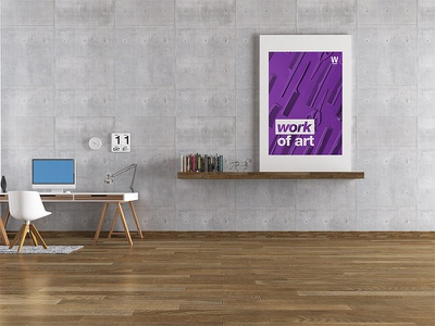 Wall Art for Workhouse design poster poster design wall art
