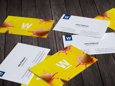 Business Card Design print design business card