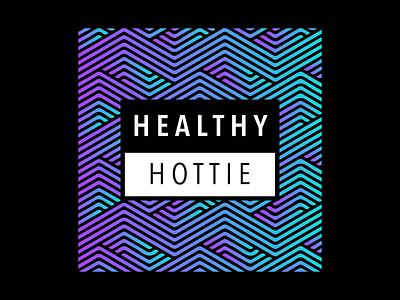 Healthy Hottie Logo ux illustrator logo