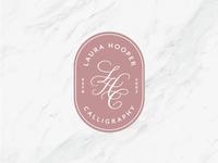 Laura Hooper Calligraphy: Badge