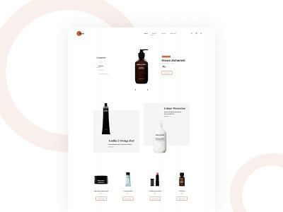 Māos - Beauty products // eCommerce website web ux ui interface beauty product product user inteface ui design organic layout shopping elegant ecommerce beauty