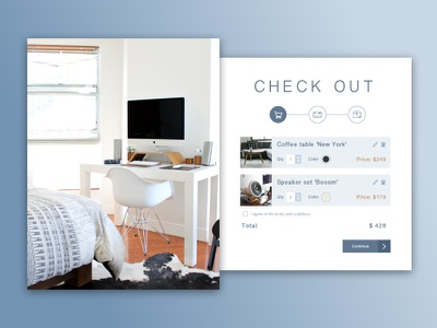 Check out concept card products online shopping shopping cart ui design web shop check out concept layout ecommerce ux ui