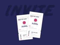 Dribbble invites! dribbble invite prospect ticket invite dribbble