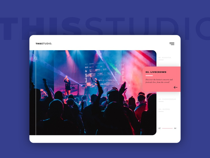 THISSTUDIO design web design sketch layout ui design user interface ui