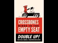Riding With Crossbones propaganda poster
