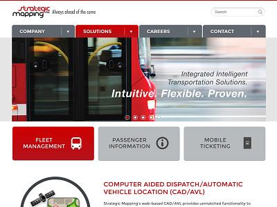 mapstrat.com Pages design public transit branding illustration website fleet management company mapstrat.com landing homepage
