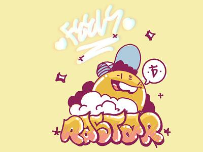 RASTAR X TWINBULL procreate character design illustration rastar twinbull