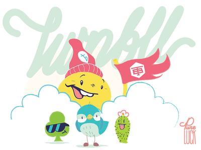 Rastar & Friends character design twinbull illustration