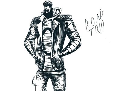 Road Trip. character design procreate app illustration twinbull