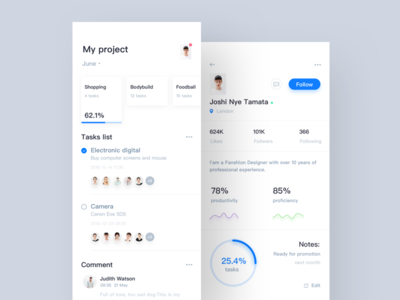 tasks project