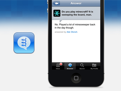 [2010 Archives] Spring for iPhone social network app ios iphone formspring