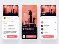 Event App- Inviting Screen