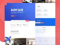 Airfair website Exploration
