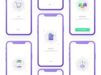 Eshoper iOS App Design - Onboarding