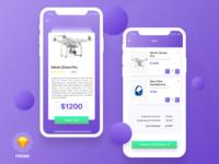 EShoper App - Freebie
