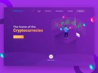 CryptoCurrency Web Header Exploration