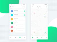 Mapchat iOS App design