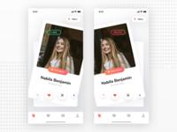 Tinder like Dating App Design
