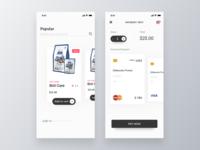 Product Shop App Design