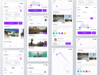 Hotel Booking App Design