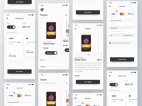 Grocery Shop App Design