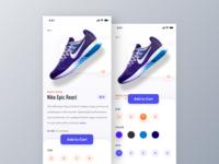 NIke Shoe iOS App