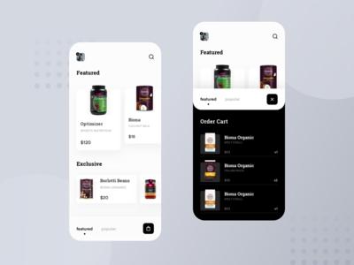 Store Shop App Design