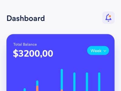 Wallet App Design ui fintech product interface wallet financial flat bank design concept clean app