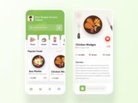 Food App Design